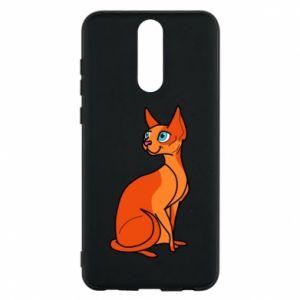 Etui na Huawei Mate 10 Lite Red eared cat