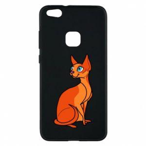 Etui na Huawei P10 Lite Red eared cat