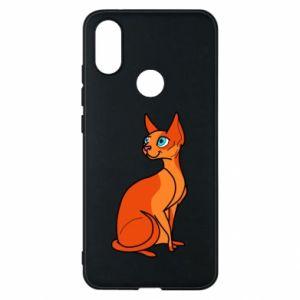 Etui na Xiaomi Mi A2 Red eared cat