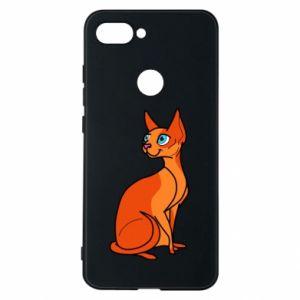 Etui na Xiaomi Mi8 Lite Red eared cat