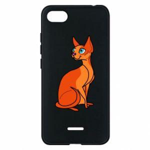 Etui na Xiaomi Redmi 6A Red eared cat
