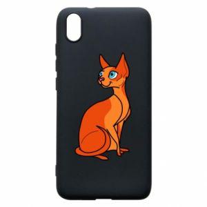 Etui na Xiaomi Redmi 7A Red eared cat
