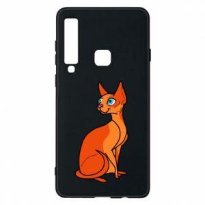 Etui na Samsung A9 2018 Red eared cat