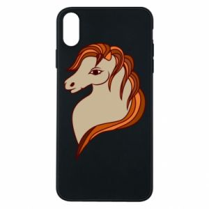 Phone case for iPhone Xs Max Red horse