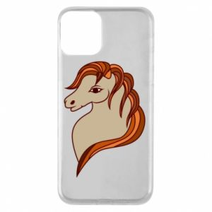 Phone case for iPhone 11 Red horse