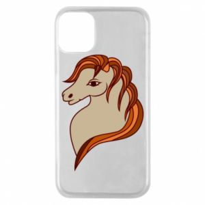 Phone case for iPhone 11 Pro Red horse