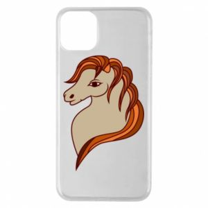 Phone case for iPhone 11 Pro Max Red horse
