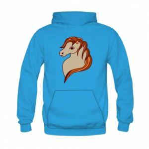 Bluza z kapturem dziecięca Red horse