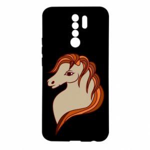 Etui na Xiaomi Redmi 9 Red horse