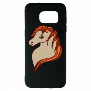 Etui na Samsung S7 EDGE Red horse