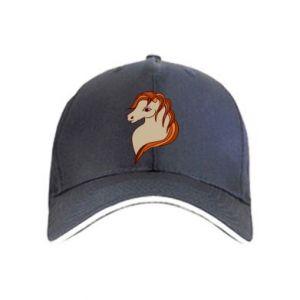 Cap Red horse