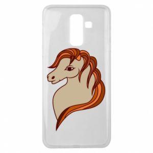 Etui na Samsung J8 2018 Red horse