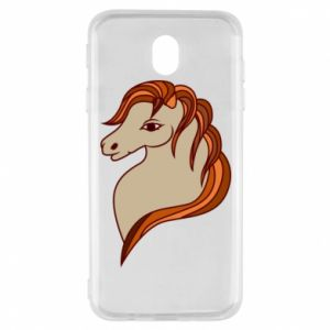 Etui na Samsung J7 2017 Red horse
