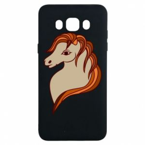 Etui na Samsung J7 2016 Red horse