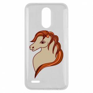 Etui na Lg K10 2017 Red horse