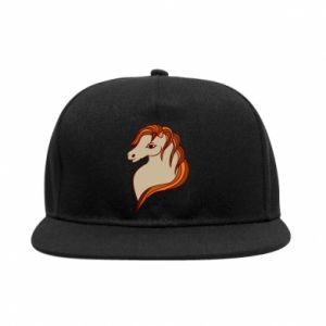 Snapback Red horse