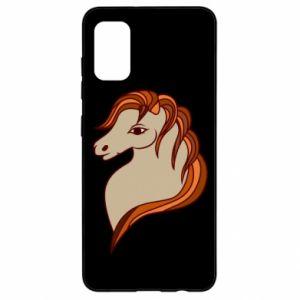 Etui na Samsung A41 Red horse
