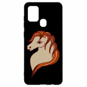 Etui na Samsung A21s Red horse