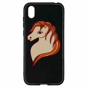 Etui na Huawei Y5 2019 Red horse