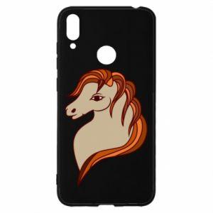 Etui na Huawei Y7 2019 Red horse