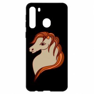 Etui na Samsung A21 Red horse