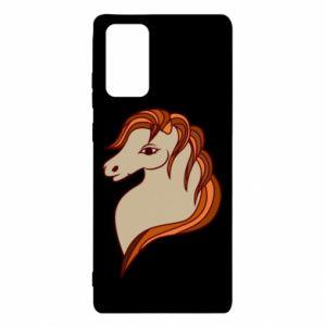 Etui na Samsung Note 20 Red horse