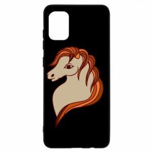 Etui na Samsung A31 Red horse