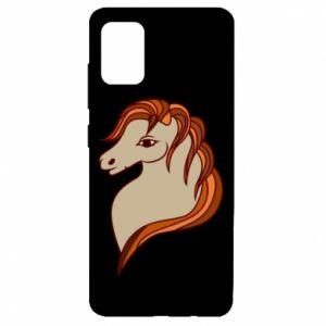 Etui na Samsung A51 Red horse