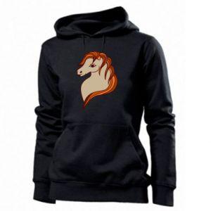 Women's hoodies Red horse