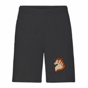 Men's shorts Red horse