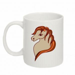 Mug 330ml Red horse