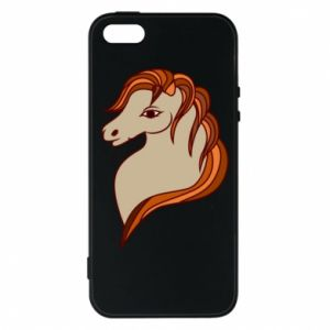 Phone case for iPhone 5/5S/SE Red horse