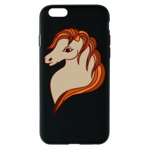 Phone case for iPhone 6/6S Red horse