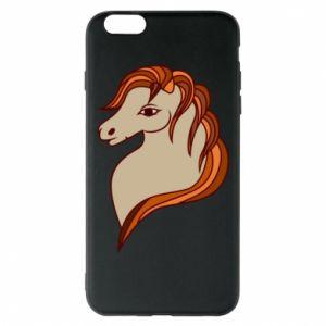 Phone case for iPhone 6 Plus/6S Plus Red horse