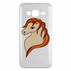 Phone case for Samsung J3 2016 Red horse