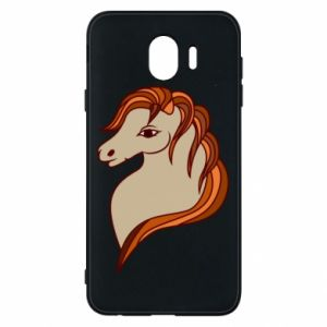 Phone case for Samsung J4 Red horse