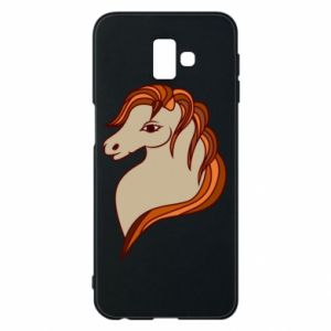 Phone case for Samsung J6 Plus 2018 Red horse