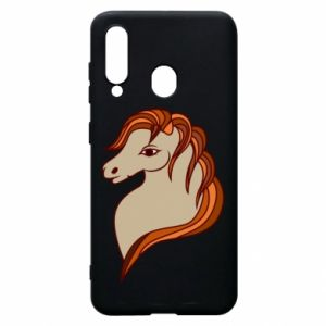 Phone case for Samsung A60 Red horse