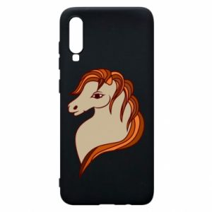 Phone case for Samsung A70 Red horse