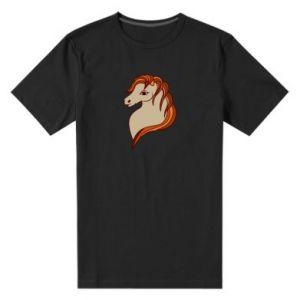Men's premium t-shirt Red horse