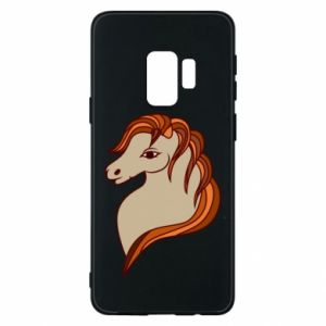 Phone case for Samsung S9 Red horse