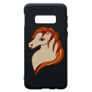 Phone case for Samsung S10e Red horse