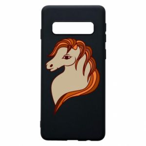 Phone case for Samsung S10 Red horse