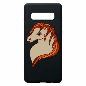 Phone case for Samsung S10+ Red horse