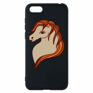 Phone case for Huawei Y5 2018 Red horse