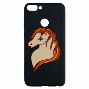Phone case for Huawei P Smart Red horse