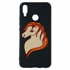 Phone case for Huawei P Smart Plus Red horse