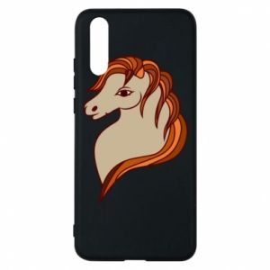 Phone case for Huawei P20 Red horse