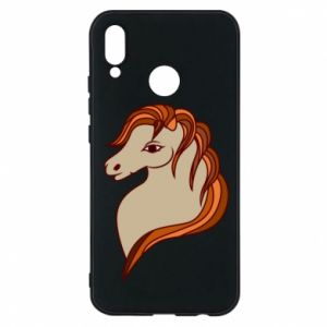Phone case for Huawei P20 Lite Red horse