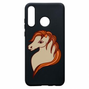 Phone case for Huawei P30 Lite Red horse